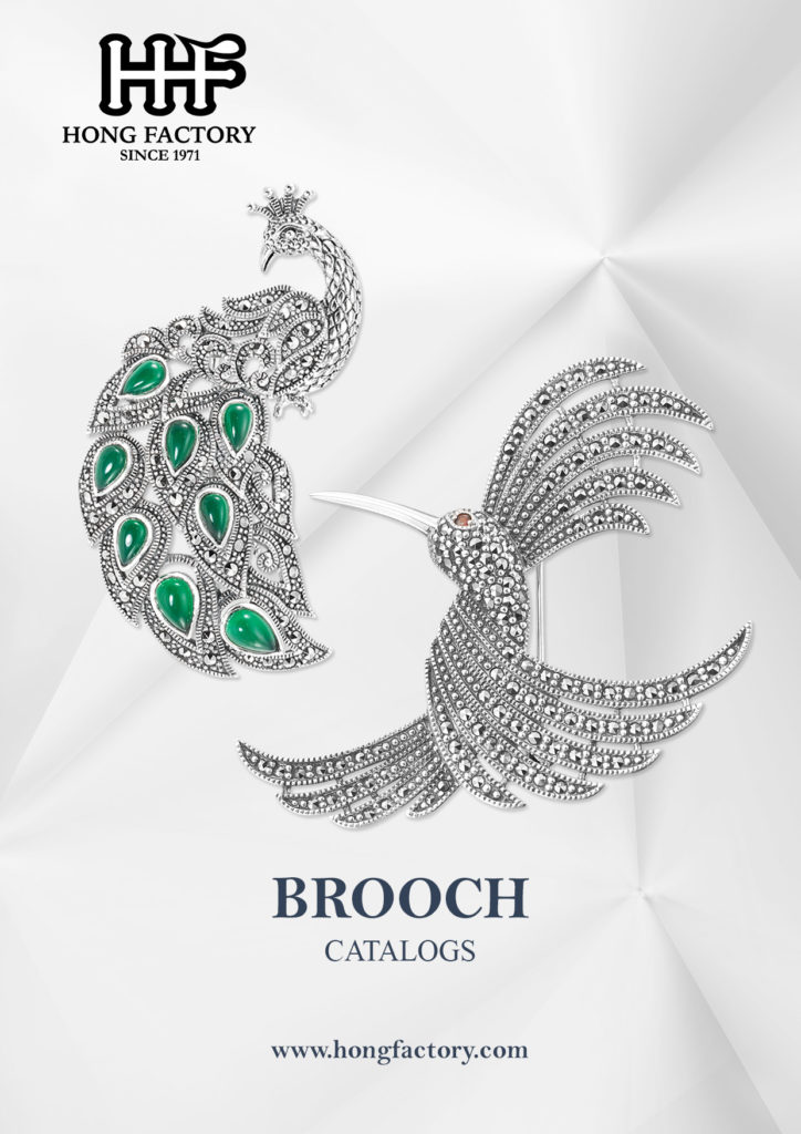 Marcasite Jewelry catalogs Brooch