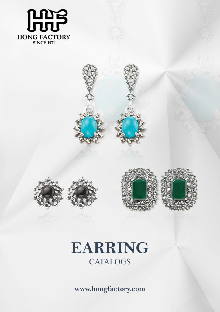 Marcasite Jewelry catalogs Earring
