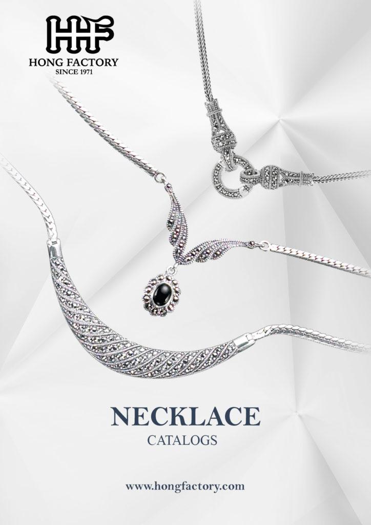 Marcasite Jewelry catalogs Necklace