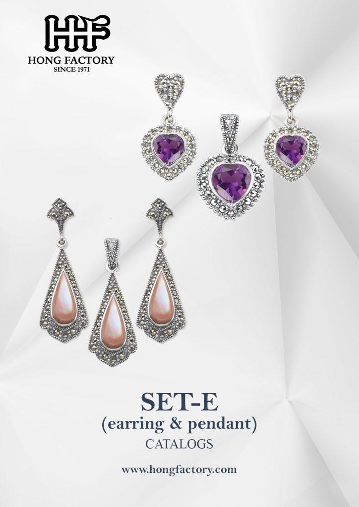 Marcasite Jewelry catalogs set
