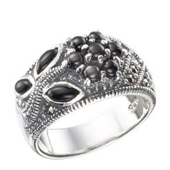 Marcasite jewelry ring HR0478 1