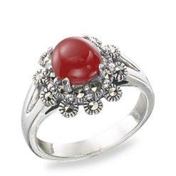 Marcasite jewelry ring HR0508 1