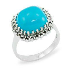 Marcasite jewelry ring HR0884 1