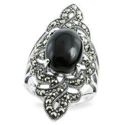 Marcasite jewelry ring HR0905 1
