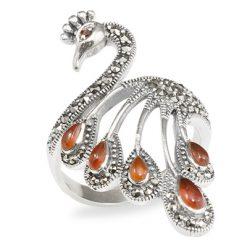 Marcasite jewelry ring HR0966 1