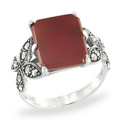 Marcasite jewelry ring HR1117 1