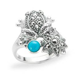 Marcasite jewelry ring HR1217 1