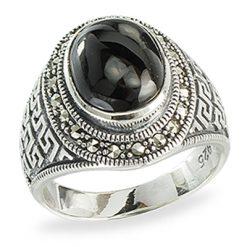 Marcasite jewelry ring HR1375 1