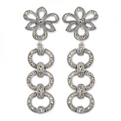 marcasite earring HE0193 1