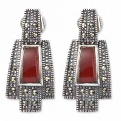 marcasite earring HE0255 1