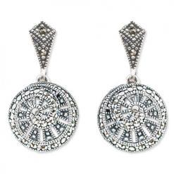 marcasite earring HE0654 1
