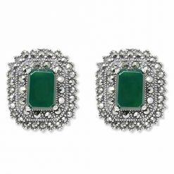 marcasite earring HE0876 1