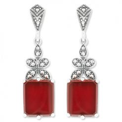 marcasite earring HE1026 1