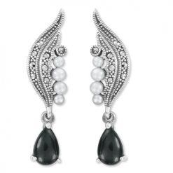 marcasite earring HE1108 1