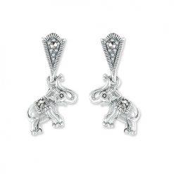 marcasite earring HE1319 1