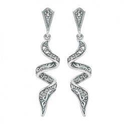 marcasite earring HE1322 1