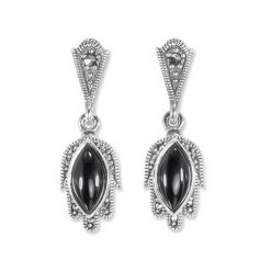 marcasite earring HE1333 1