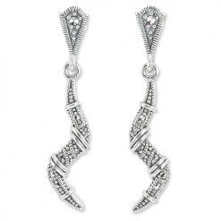 marcasite earring HE1345 1