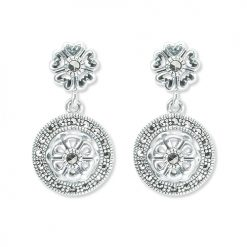 marcasite earring HE1347 1
