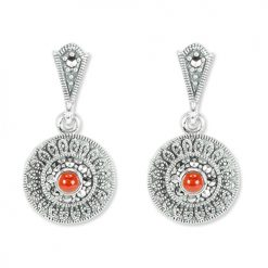 marcasite earring HE1355 1