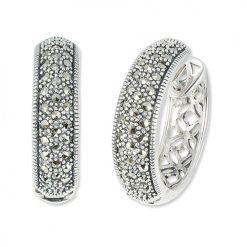 marcasite earring HE1418 1