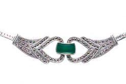 Marcasite necklace NE0029 1