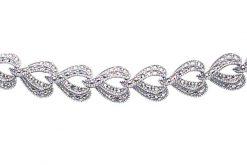 Marcasite necklace NE0177 1