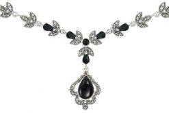 Marcasite necklace NE0498 1