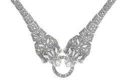 Marcasite necklace NE0531 1