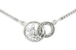 Marcasite necklace NE0574 1