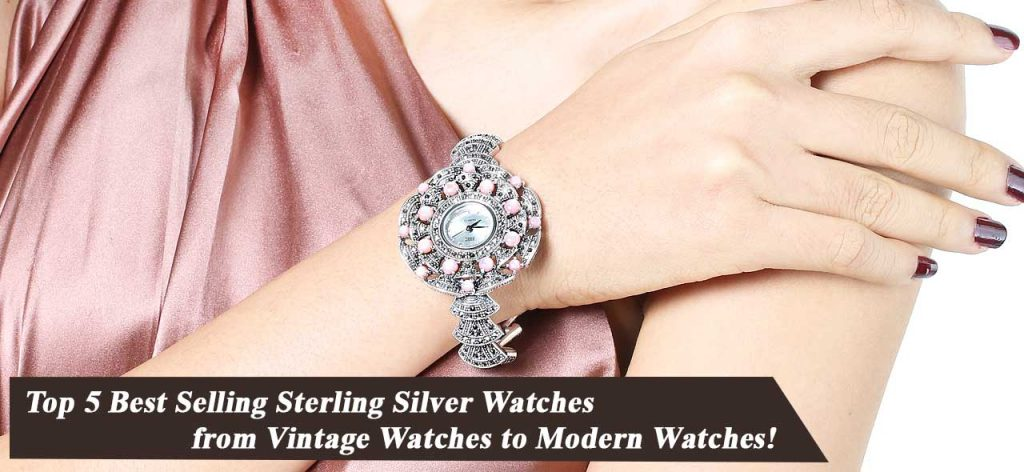 Sterling Silver Watches from Vintage Watches to Modern Watches 001