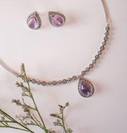 New Arrivals-Marcasite Necklace