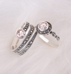 New Arrivals-Marcasite Ring