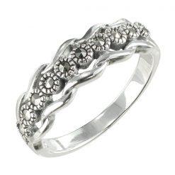 Marcasite jewelry ring HR1568 001