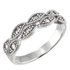 Marcasite jewelry ring HR1573 001