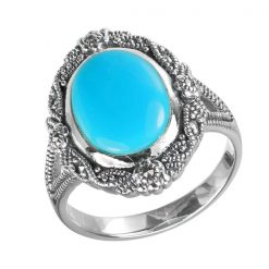 Marcasite jewelry ring HR1576 001